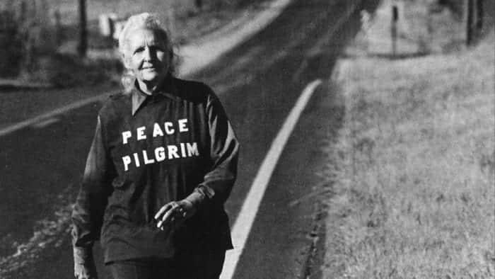 Photo of Peace Pilgrim Adını Duymuş muydunuz?