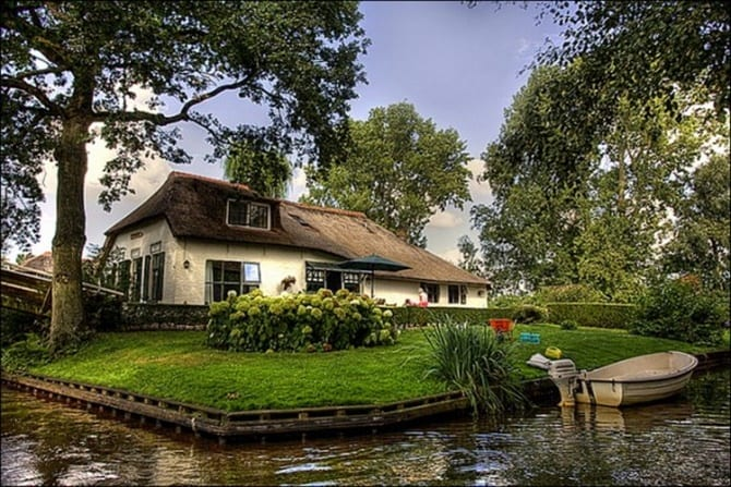 Photo of Hollanda'da Bir Masal Köy: Giethoorn
